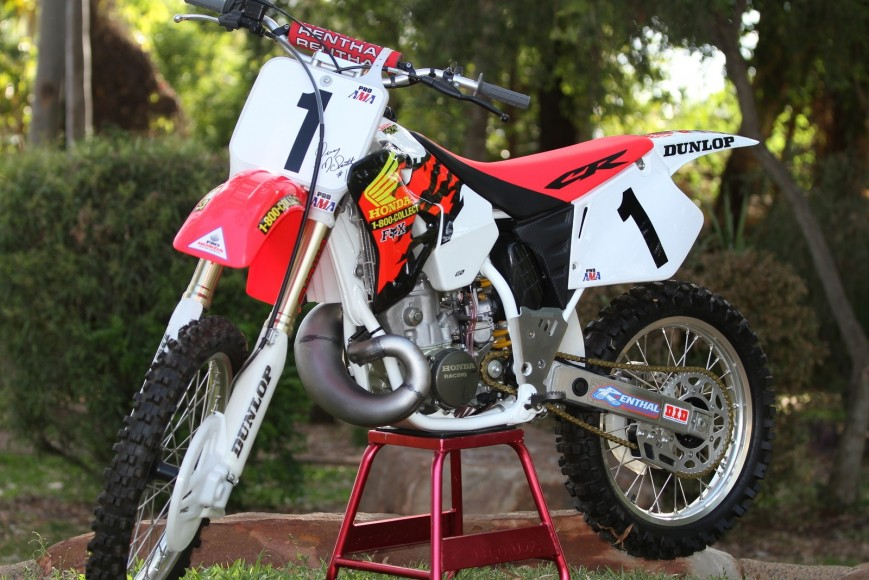 1996 CR250 – McGrath Replica | BlockPassMX