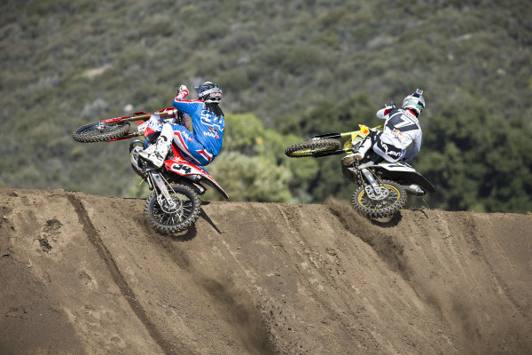 (L-R) Malcolm Stewart and James Stewart - Action