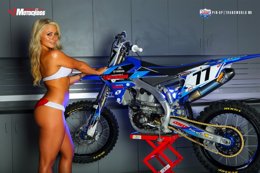 Transworld motocross pin up