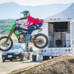 Dean Wilson 450 training with Chad Reed