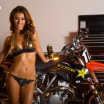JESSICA VARGAS & ANDERSON'S ROCKSTAR ENERGY KTM
