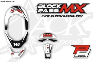 BlockPassMX | Leatt Brace Graphic Kit