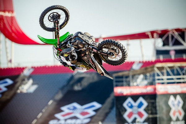 Josh Hansen in Best Whip at X Games Austin 2014.