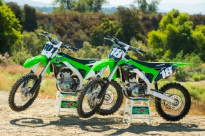 2018 KX250F & KX450F