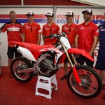 Michele Cervellin Tests the 2018 Honda CRF250RW